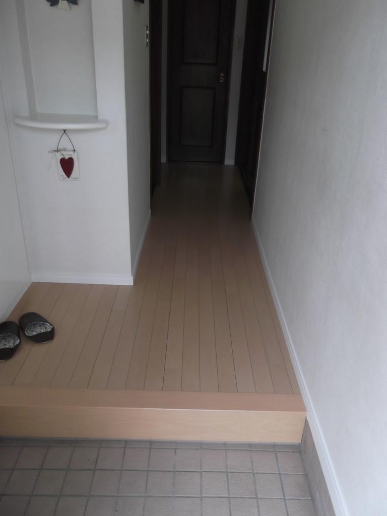 古くなった床を一新!