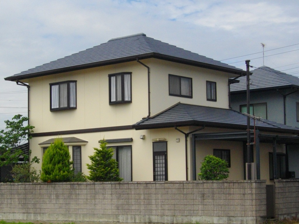 建物を保護するフッ素樹脂!外壁・屋根塗装!!