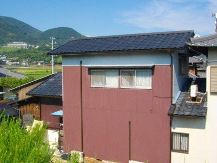 雨漏り補修と、軽い屋根瓦で、耐震強化!