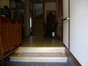 玄関から廊下のバリアフリーリフォーム!
