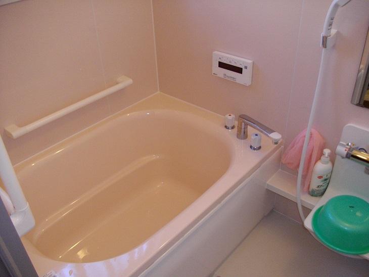 安心して入れるお風呂にリフォームしました!
