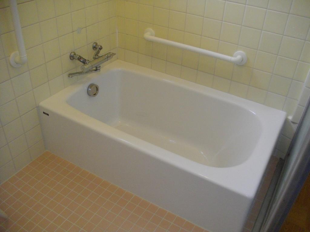 リラックスできる浴室へ一新。