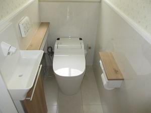 スッキリと使い勝手のよいトイレに!