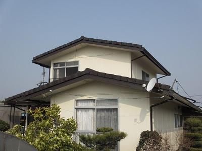 安心長持ち、災害に強い瓦に交換とフッ素樹脂塗料で外壁塗装!