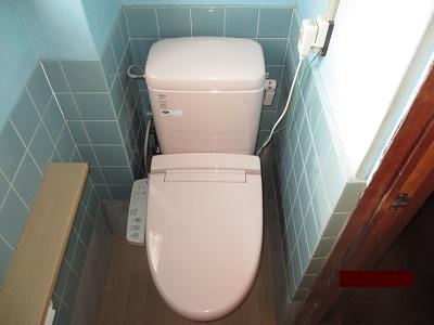 汲み取り式和式トイレから洋式トイレへ大変身!