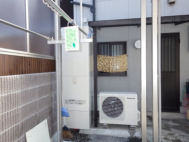 エコキュート設置と窓ガラス交換で省エネ住宅ポイントをWゲット!