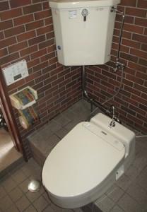 和式トイレから洋式トイレへ短時間でチェンジ!