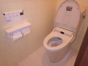 新しくなったトイレと、オーダーメイドの引戸で使いやすく♪