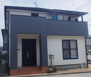 屋根・外壁のフッ素塗装で家のイメージをガラリとチェンジ!
