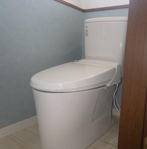 清潔で温かみのあるトイレ空間に♪