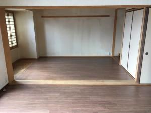 広々マンションの床を全面張替えました♪