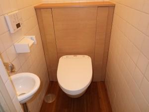 和式トイレからスタイリッシュな洋式トイレへチェンジ!