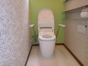 アクセントクロスでトイレ空間をガラリとチェンジ!