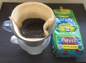 コーヒー再利用(^o^)丿