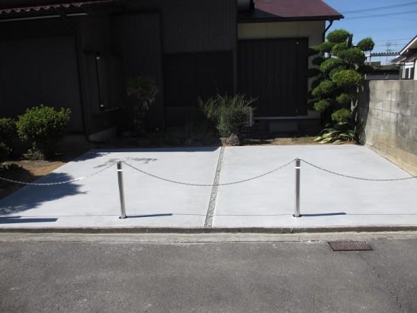 和風庭から広々とした駐車スペースへ大変身!