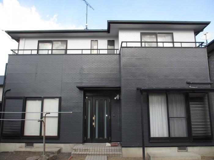 スタイリッシュなツートンカラーで外壁・屋根塗装!